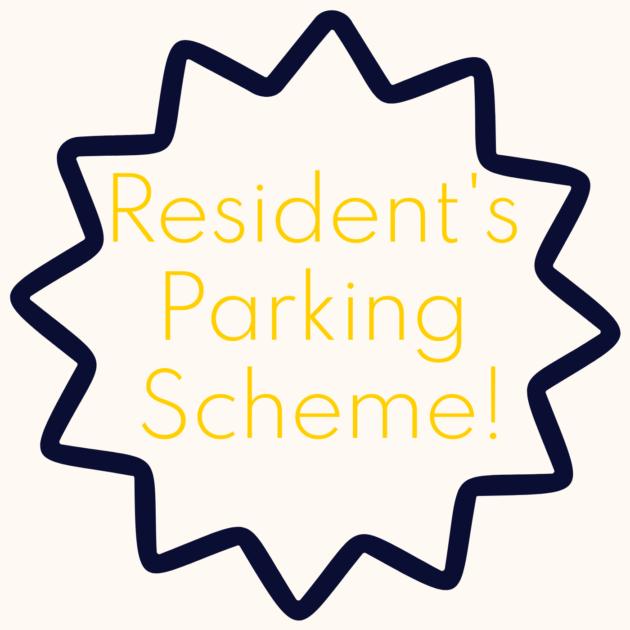 Resident's Parking Scheme!